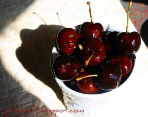 Girlichef's Candied Cherries
